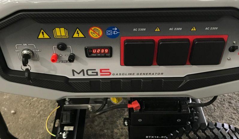 WACKER NEUSON MG5 PORTABLE GENERATOR full